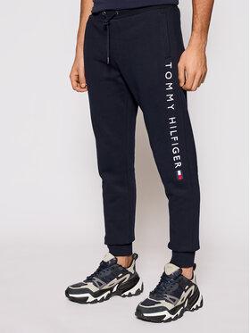 Tommy Hilfiger Tommy Hilfiger Teplákové kalhoty Stacked Logo MW0MW18485 Tmavomodrá Regular Fit