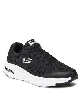Skechers Skechers Sneakersy Arch Fit 232040/BKW Czarny