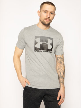 Under Armour Under Armour Póló Ua Boxed Sportstyle 1329581 Szürke Loose Fit