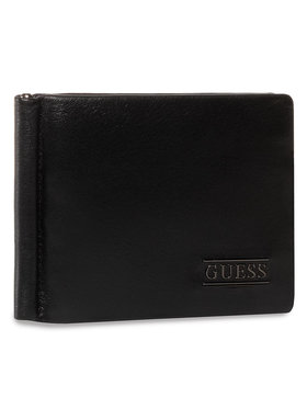 Guess Guess Étui cartes de crédit New Boston SLG SM4016 LEA23 Noir