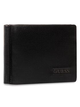 Guess Guess Kreditinių kortelių dėklas New Boston SLG SM4016 LEA23 Juoda