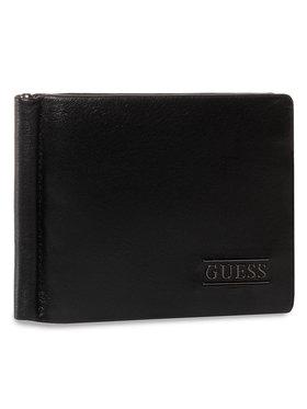 Guess Guess Pouzdro na kreditní karty New Boston SLG SM4016 LEA23 Černá