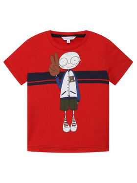 Little Marc Jacobs Little Marc Jacobs T-shirt W25414 Rosso Regular Fit