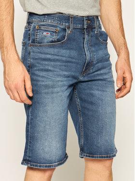 Tommy Jeans Tommy Jeans Pantaloni scurți de blugi Rey DM0DM08039 Bleumarin Relaxed Fit
