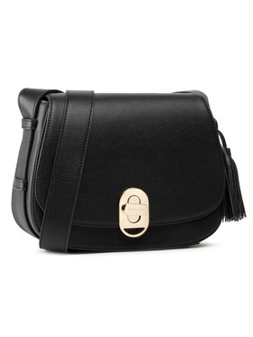 Trussardi Trussardi Дамска чанта Shoulder Md Tumbled 75B01002 Черен