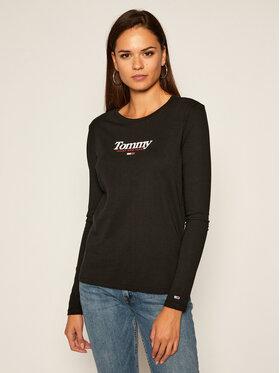 Tommy Jeans Tommy Jeans Μπλουζάκι DW0DW08941 Μαύρο Regular Fit