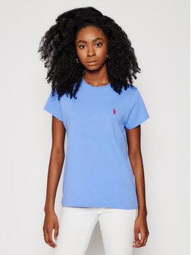Polo Ralph Lauren Polo Ralph Lauren T-Shirt Ssl 211734144043 Niebieski Regular Fit