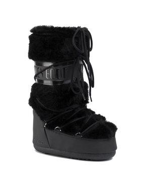 Moon Boot Moon Boot Schneeschuhe Classic Faux Fur 140890001 Schwarz