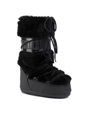 Moon Boot Moon Boot Sněhule Classic Faux Fur 140890001 Černá