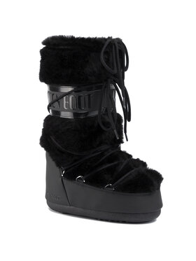 Moon Boot Moon Boot Sniego batai Classic Faux Fur 140890001 Juoda