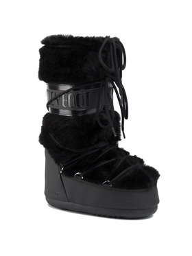 Moon Boot Moon Boot Śniegowce Classic Faux Fur 140890001 Czarny