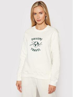 Drivemebikini Drivemebikini Sweatshirt Travel Classic 2021-DRV-082 Weiß Classic Fit