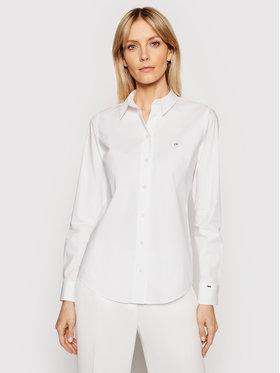 Calvin Klein Calvin Klein Košeľa K20K202020 Biela Slim Fit