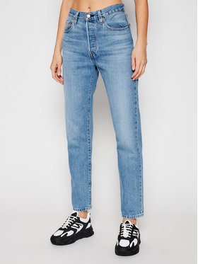 Levi's® Levi's® Blugi Straight Leg 501® Crop 36200-0159 Albastru Regular Fit