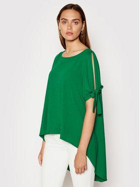 Rinascimento Rinascimento Блуза CFC0103448003 Зелен Regular Fit