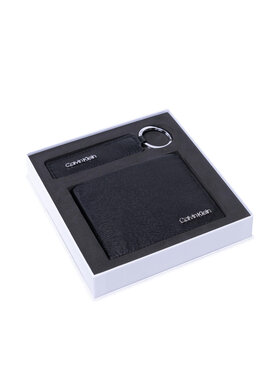 Calvin Klein Calvin Klein Dárková sada Minimalism Bifold 5Cc+Keyfob K50K507556 Černá