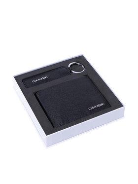 Calvin Klein Calvin Klein Zestaw upominkowy Minimalism Bifold 5Cc+Keyfob K50K507556 Czarny