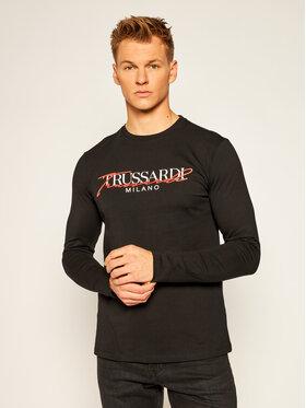 Trussardi Jeans Trussardi Jeans Longsleeve 52T00383 Nero Regular Fit