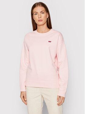 Levi's® Levi's® Majica dugih rukava Standard Fleece 24688-0035 Ružičasta Regular Fit