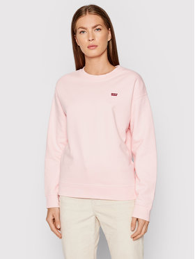 Levi's® Levi's® Pulóver Standard Fleece 24688-0035 Rózsaszín Regular Fit