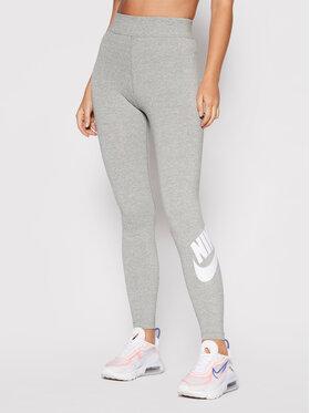 Nike Nike Legginsy Sportswear Essential CZ8528 Szary Tight Fit