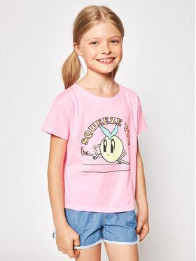 Billieblush Billieblush Тишърт U15868 Розов Regular Fit