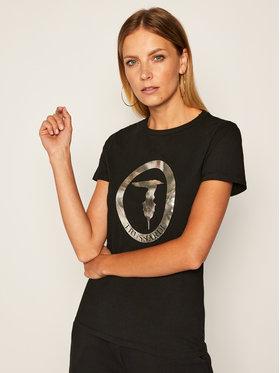 Trussardi Jeans Trussardi Jeans T-shirt 56T00280 Nero Regular Fit