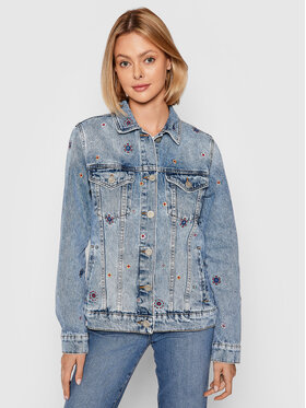 Desigual Desigual Farmer kabát Julieta 21WWED22 Kék Regular Fit