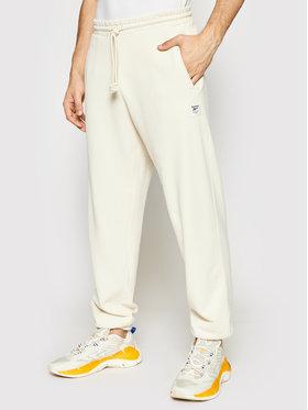 Reebok Reebok Spodnie dresowe Cl Nd GS9157 Beżowy Regular Fit