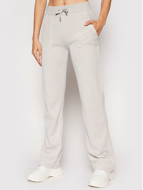 Juicy Couture Juicy Couture Долнище анцуг Delray JCCB221003 Сив Regular Fit