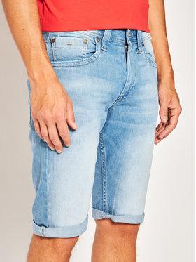 Pepe Jeans Pepe Jeans Дънкови шорти Cash PM800074 Син Regular Fit