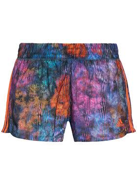 adidas adidas Pantaloni scurți sport Pacer Woven Floral GL0712 Colorat Regular Fit