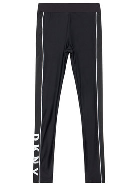 DKNY DKNY Leggings D34A11 D Crna Slim Fit