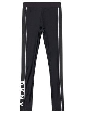 DKNY DKNY Leggings D34A11 D Fekete Slim Fit