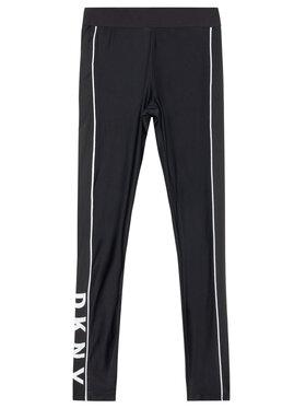DKNY DKNY Leggings D34A11 D Nero Slim Fit