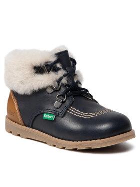 Kickers Kickers Зимни обувки Nonosweet 878701-10-101 Тъмносин