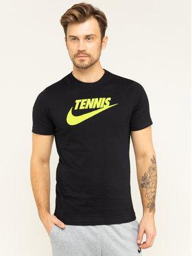 Nike Nike T-Shirt Court CJ0429 Czarny Standard Fit