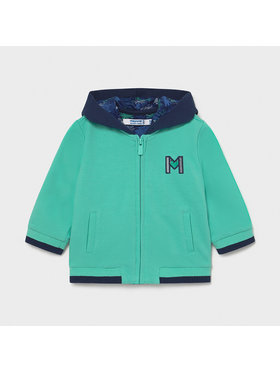 Mayoral Mayoral Суитшърт 1410 Зелен Regular Fit