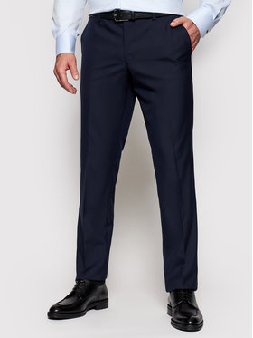 Oscar Jacobson Oscar Jacobson Pantalone da abito Diego 5115 8515 Blu scuro Regular Fit