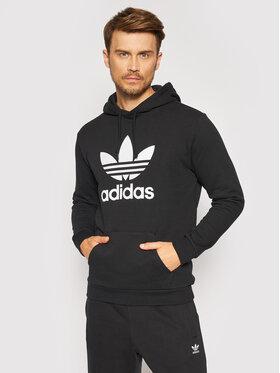 adidas adidas Pulóver adicolor Classics Trefoil Fekete Regular Fit