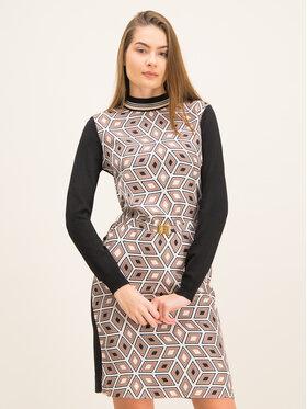 Tory Burch Tory Burch Ежедневна рокля Silk Front Sweater 60208 Regular Fit