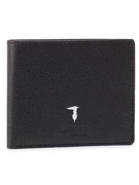 Trussardi Trussardi Голям мъжки портфейл Wallet Credit Card Coin 71W00004 2P000185 Черен