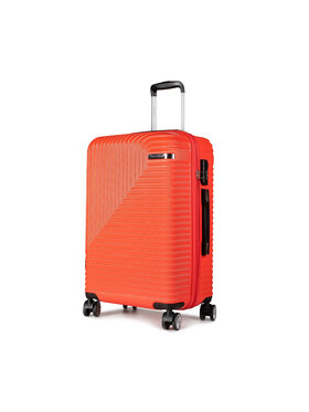 Puccini Puccini Valise rigide taille moyenne Florence ABS014B 3 Rouge