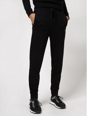 Hugo Hugo Teplákové kalhoty Dibex 50442620 Černá Regular Fit