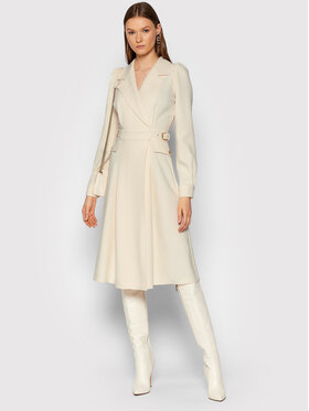 Elisabetta Franchi Elisabetta Franchi Φόρεμα κοκτέιλ AB-001-16E2-V460 Μπεζ Loose Fit