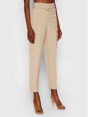 Guess Guess Kalhoty z materiálu New Hope W1YB0A WB4H2 Béžová Regular Fit