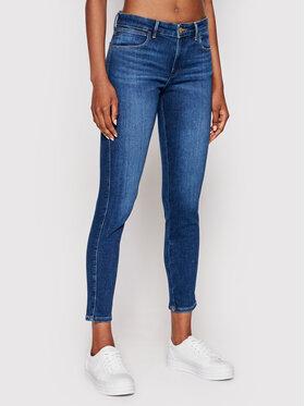 Wrangler Wrangler Jeans W28KZM23Z Dunkelblau Skinny Fit