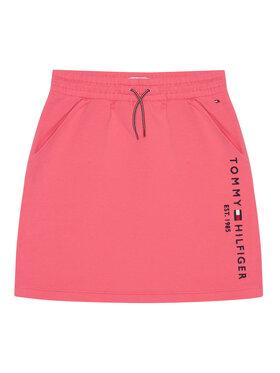 TOMMY HILFIGER TOMMY HILFIGER Spódnica Essential Knit KG0KG05325 D Różowy Regular Fit