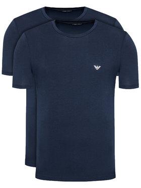 Emporio Armani Underwear Emporio Armani Underwear Komplet 2 t-shirtów 111267 1P720 27435 Granatowy Regular Fit