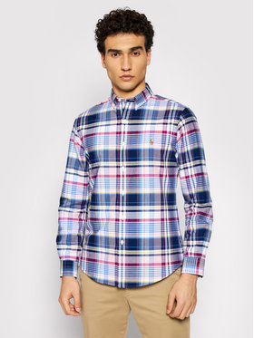 Polo Ralph Lauren Polo Ralph Lauren Риза Oxford 710844537003 Розов Slim Fit